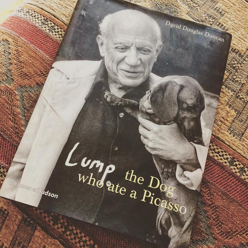 Livro Lump: The Dog Who Ate a Picasso
