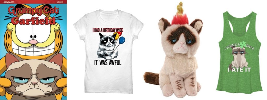 Produtos da loja Grumpy Cat