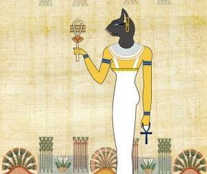 Deusa Bastet do Egito